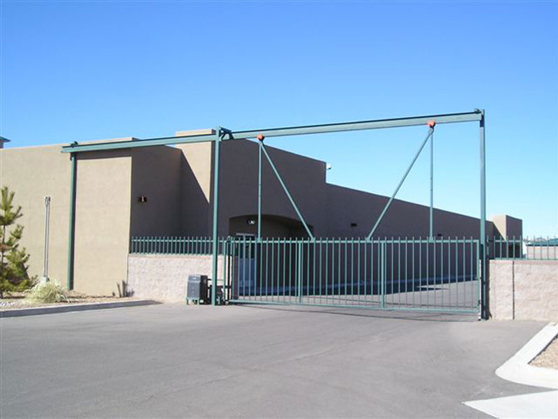 Slide gates gate it access systems