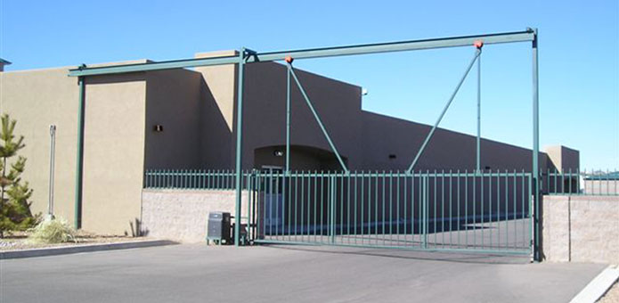 Commercial Slide Gate