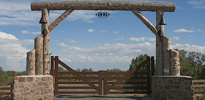 Ranch Driveway Gate