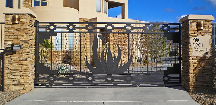 southwest agave gate