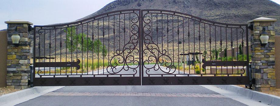 Residential Tuscan Gates