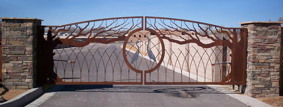 Residential Contemporary Gates