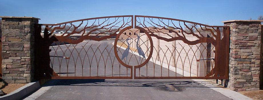 Residential Contemporary Gates