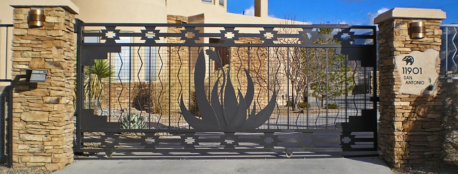 Southwest Contemporary Gates