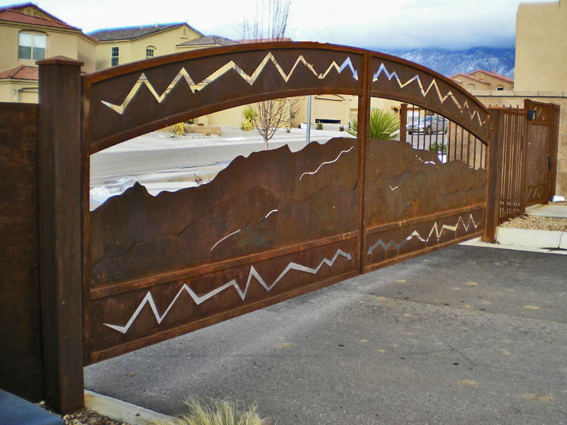 Southwestern Contemporary Gates Gate It Access Systems